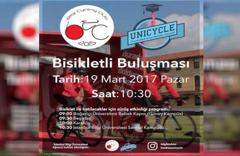 Bisikletli Buluşması - 19 Mart Pazar