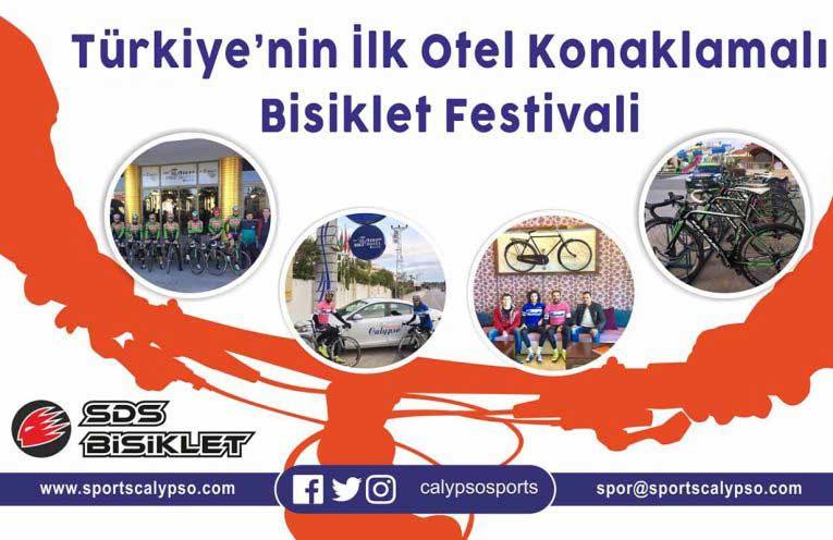 Türkiye'nin İlk Otel Konaklamalı Bisiklet Festivali - Calypso Sports