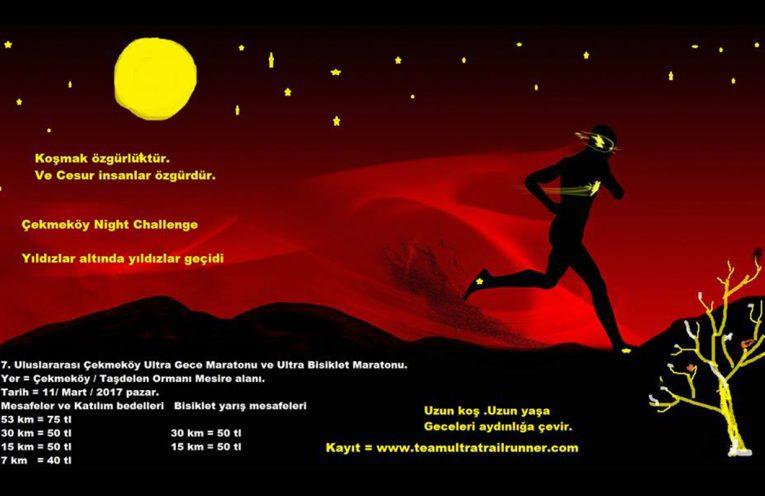 7. Çekmeköy Uluslararası Ultra Gece Maratonu