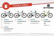 Decathlon BTWIN Markalı Bisikletleri Geri Çağırıyor