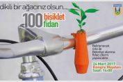 100 BİSİKLET 100 FİDAN