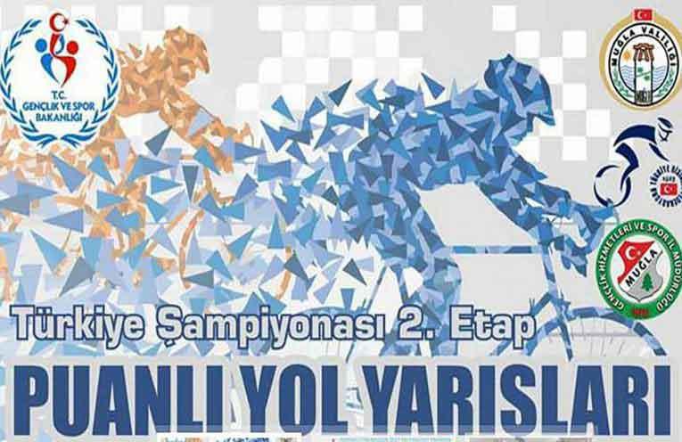 Türkiye Şampiyonası Puanlı Yol Yarışları 2. Etap Muğla'da