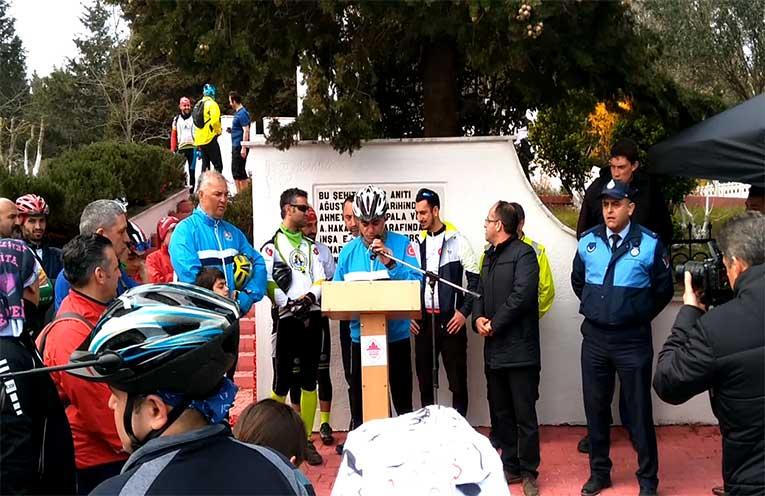 Alaiye Şehitliği III. Şehitleri Anma Bisiklet Turu