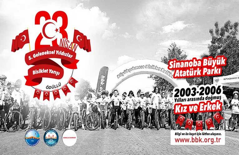 5. Geleneksel Ödüllü Yıldızlar Bisiklet Yarışı | 23 Nisan
