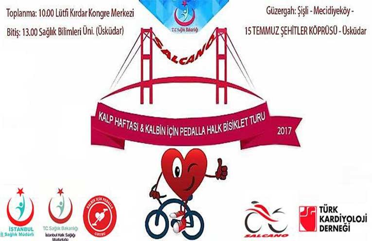 Kalp Haftası - Kalbin İçin Pedalla Halk Bisiklet Turu 9 Nisan