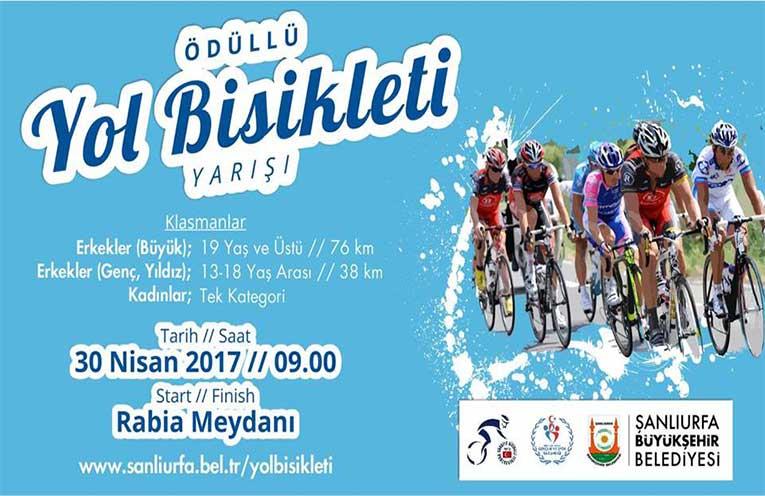 Şanlıurfa Yol Bisiklet Yarışı | 30 Nisan