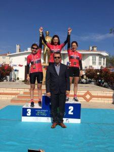 Tekirdağ Yol Yarışı - Kadınlar 19+ Kategorisi Kürsü