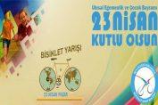 23 Nisan Ulusal Egemenlik ve Çocuk Bayramı Bisiklet Yarışı   23 Nisan