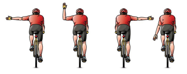 Bisiklet Sürüşünde Bilgilendirme İşaretleri