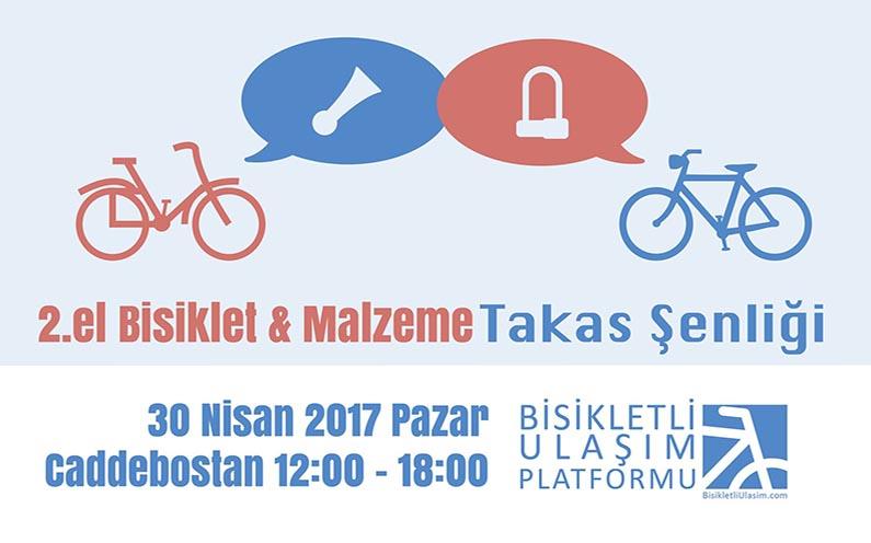 2. El Bisiklet ve Malzeme Takas Şenliği