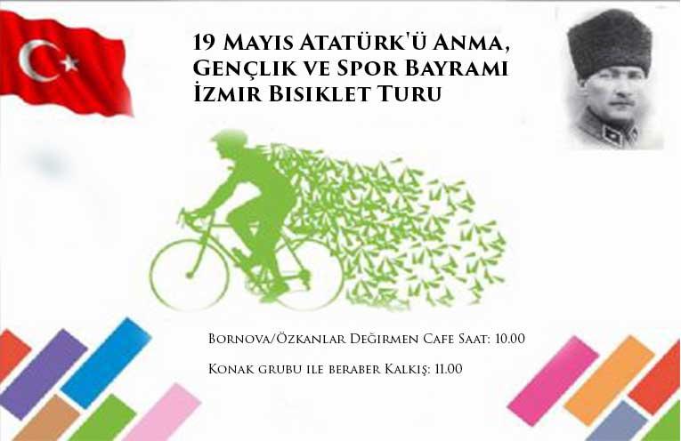 19 Mayıs Atatürk'ü Anma, Gençlik ve Spor Bayramı İzmir Bisiklet Turu