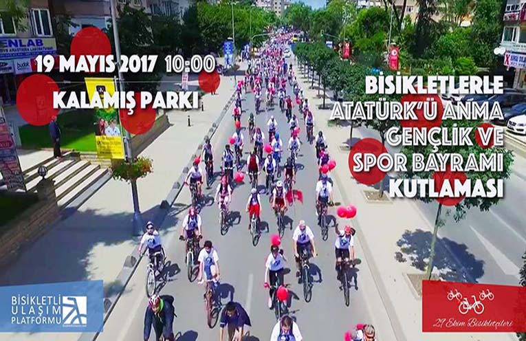 Bisikletli Ulaşım Platformu 19 Mayıs