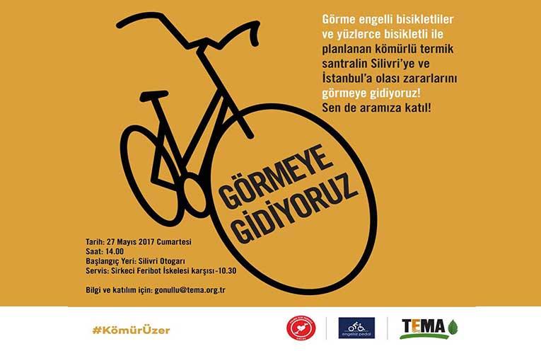 Kömür Üzer İstanbul Bisiklet Etkinliği | 27 Mayıs