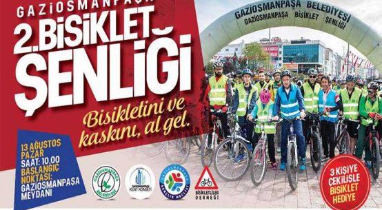 Gaziosmanpaşa 2.Bisiklet Şenliği | 13 Ağustos
