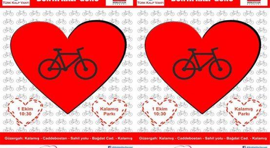 Dünya Kalp Günü Bisiklet Turu - Bisikletliler Derneği   1 Ekim