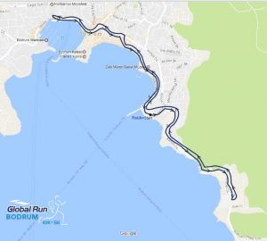 5.Global Run Bodrum 10K Parkuru