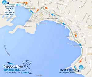 5.Global Run Bodrum 5K Parkuru