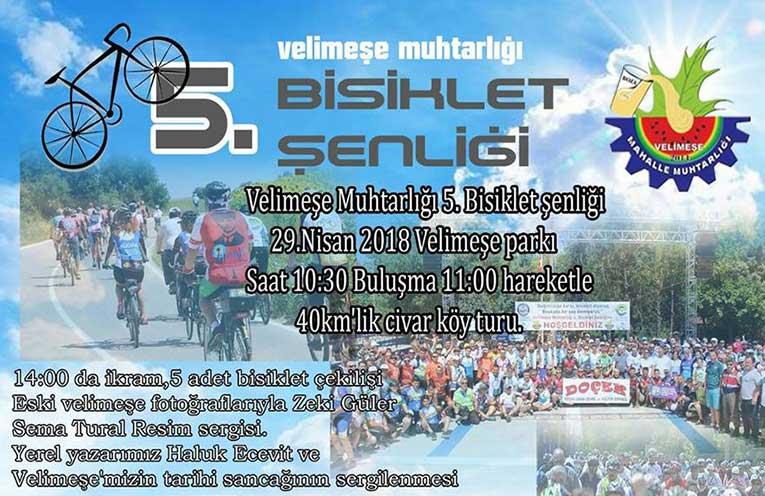 Velimeşe Muhtarlığı 5.Bisiklet Şenliği | 29 Nisan