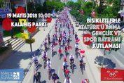 Bisikletlerle Atatürk'ü Anma, Gençlik ve Spor Bayramı Kutlaması   19 Mayıs