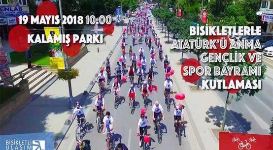 Bisikletlerle Atatürk'ü Anma, Gençlik ve Spor Bayramı Kutlaması | 19 Mayıs