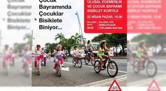 Ulusal Egemenlik ve Çocuk Bayramı Bisiklet Korteji | 22 Nisan