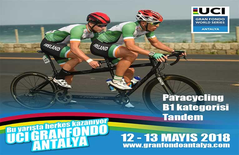 Paralimpik Kategorisinin Yer Aldığı Türkiye'deki İlk Gran Fondo Yarışı Antalya'da Yapılacak