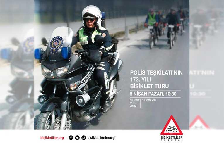 Polis Haftası Bisiklet Turu | 8 Nisan