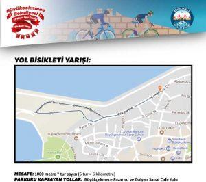 Büyükçekmece Belediyesi 19 Mayıs Spor Şenliği Bisiklet Yarışı | 19 Mayıs