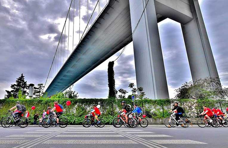 Her İki Yakada Bisikletlerle 30 Ağustos Zafer Bayramı Kutlaması | 30 Ağustos 2018