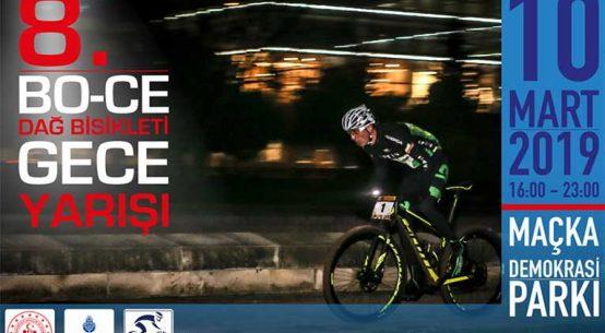 8. Bo-ce Dağ Bisikleti Gece Yarışı