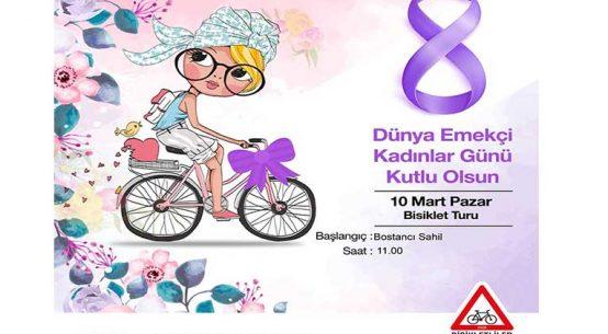 8 Mart Dünya Emekçi Kadınlar Günü Bisiklet Turu | 10 Mart