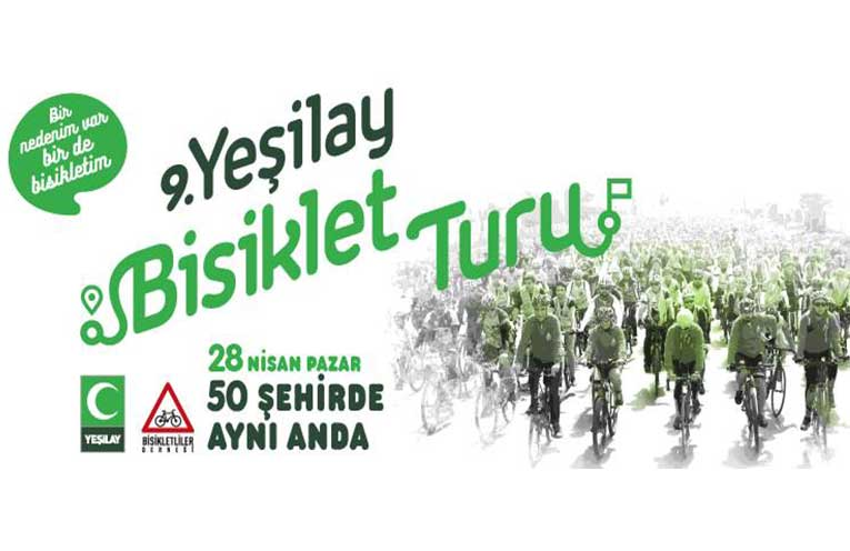 9. Geleneksel Yeşilay Bisiklet Turu | 28 Nisan
