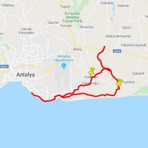 Akra Gran Fondo Antalya | Kısa Parkur