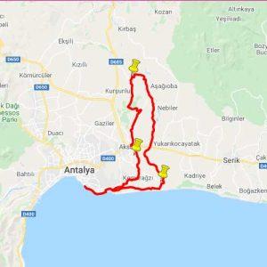 Akra Gran Fondo Antalya | Uzun Parkur
