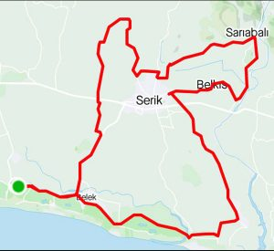UCI Gran Fondo Antalya Kısa Parkur